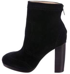 Christopher Kane Suede Ankle Boots