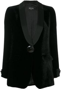 Emporio Armani classic blazer with large button