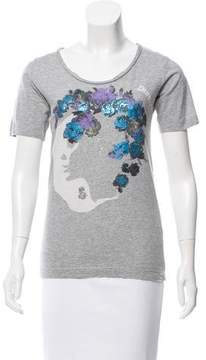 Diesel Printed Short Sleeve T-Shirt