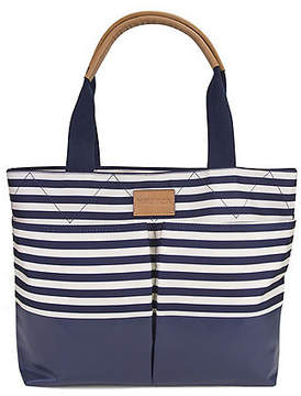 Nautica Modern Trail Shopper - Navy & Natural Stripe