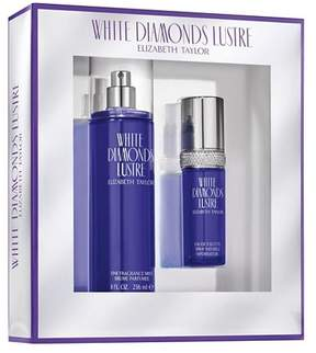 Elizabeth Taylor White Diamonds Lustre by Women's Fragrance Gift Set - 2pc