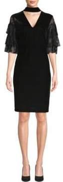 Alexia Admor Lace Choker Sheath Dress