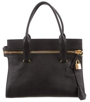 Tom Ford Leather Top Handle Bag