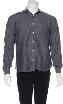 Billy Reid Linen Woven Shirt