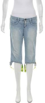 Dirk Bikkembergs Cropped Mid-Rise Jeans