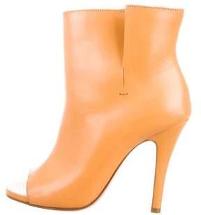 Maison Margiela Hessen Peep-Toe Ankle Boots