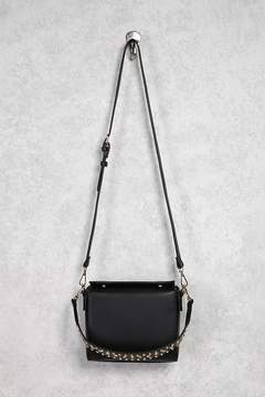 FOREVER 21 Faux Leather Studded Satchel