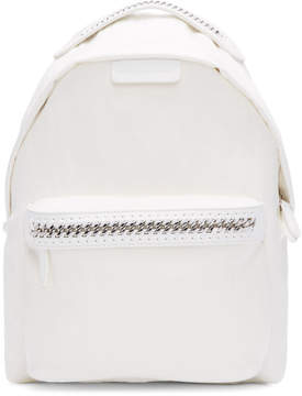 Stella McCartney White Nylon Fallabella Backpack