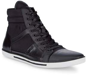 Kenneth Cole Men's Upside-Down Leather Sneakers