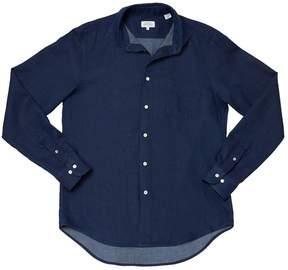 Hartford Men's Penn Woven Shirt - Navy