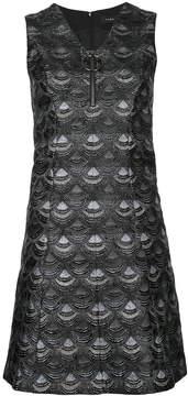G.V.G.V. scale print mini dress