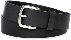 Dickies Black Leather Belt