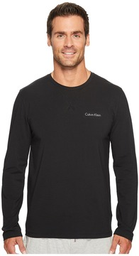 Calvin Klein Underwear Customized Stretch Long Sleeve Crew Neck Tee Men's T Shirt