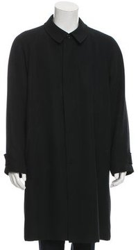Allegri Satin-Lined Button-Up Coat