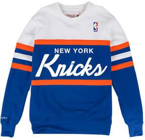 Mitchell & Ness Men's New York Knicks Head Coach Crew Sweatshirt