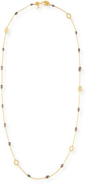 Coomi Brown Diamond Drum Bead Luminosity Necklace