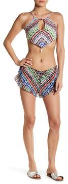 Ale By Alessandra Beach Blanket Ruffle Shorts