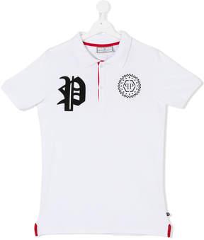Philipp Plein Junior short sleeve polo shirt