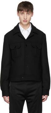 Maison Margiela Black Collared Jacket