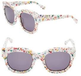 Stella McCartney 51MM Wayfarer Sunglasses