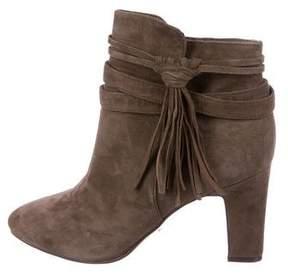 Lauren Ralph Lauren Suede Ankle Boots