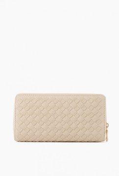 Woven Full Zip Wallet