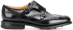 Church's double monk strap shoes with wingtip