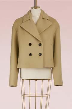 Carven Wool Tulip Coat