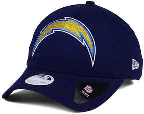 New Era Women's Los Angeles Chargers Glitter Glam 9TWENTY Strapback Cap