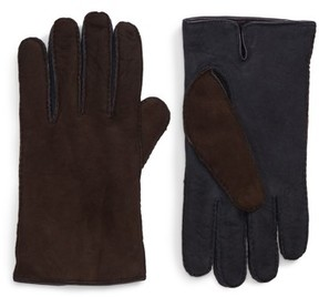 Hickey Freeman Men's Leather Gloves
