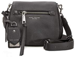 Marc Jacobs Recruit Nomad Small Pebbled Leather Saddle Bag- Shadow