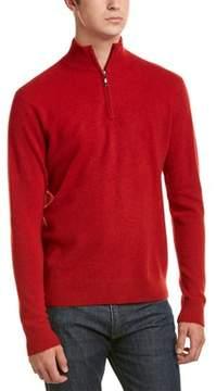Qi Cashmere 1/4-zip Pullover.