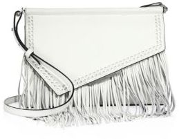 KENDALL + KYLIE Ginza Fringed Leather Clutch