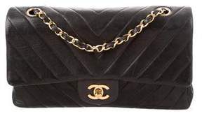 Chanel Classic Medium Chevron Double Flap Bag