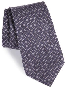 Michael Bastian Men's Geometric Wool Tie