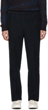 Missoni Navy Corduroy Side Band Trousers