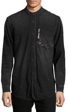 PRPS Budget Mandarin Collar Shirt