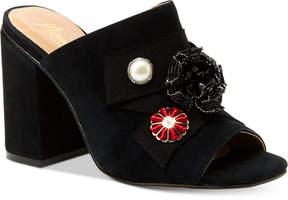 Nanette Lepore Nanette by Marsha Slide Block-Heel Sandals Women's Shoes