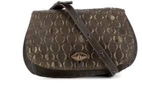 Henry Beguelin Women's Brown Leather Shoulder Bag.