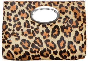 Women's PANDORA - Leopard Haircalf Clutch