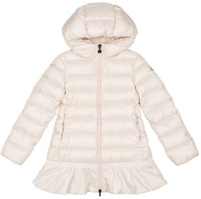 Moncler Nadra Frill Hem Coat