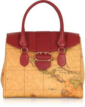 Alviero Martini Wonder Geo Large Satchel Bag