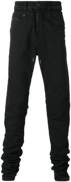 Diesel Black Gold drawstring slim-fit jeans