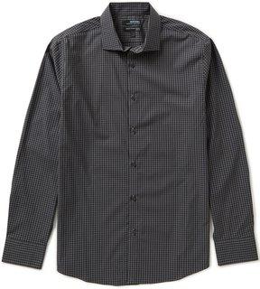 Murano Wardrobe Essentials Long-Sleeve Slim-Fit Checked Sportshirt