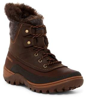 Merrell Sylvia Waterproof Faux Fur Lined Boot