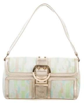 Emilio Pucci Multicolor Monogrammed Shoulder Bag