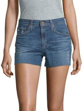 AG Adriano Goldschmied Led High-Rise Denim Shorts