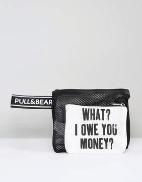 Pull&Bear What I Owe You Bag