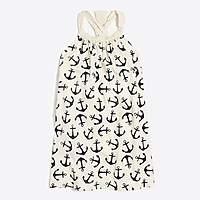 J.Crew Factory Girls' printed bow-back dress