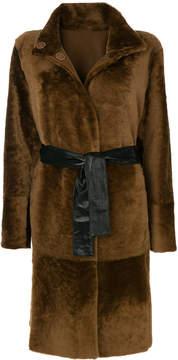 Drome belted reversible coat
